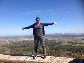 Nanije Topalli genoss ihr Praktikum auf der spanischen Insel Mallorca. Foto: SMMP