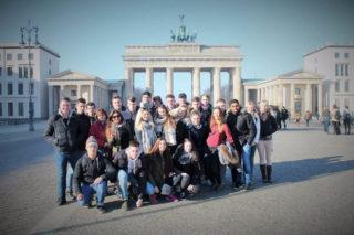 Mal eben nach Berlin: Die Sportklasse FHR 12c fuhr in die Hauptstadt. Foto: SMMP/Knüttel