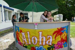 """""""Aloha from Menden"""": Die SV hatte eine tolle Sommerparty organisiert. Foto: SMMP/Hofbauer"""